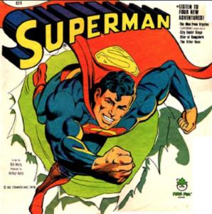 Superman Vinyl LP from 1970s